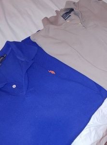 Set of 2 Men's 2xl polo shirts